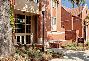Photo of Florida State University's Center for Global Engagement building